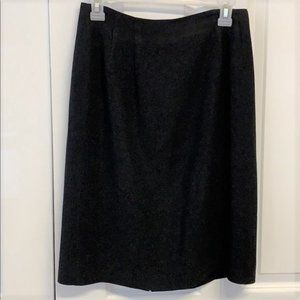 Nygard Pencil Black Skirt Size 8 Lined